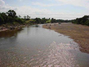 Baghni River Nadi Bagh Print